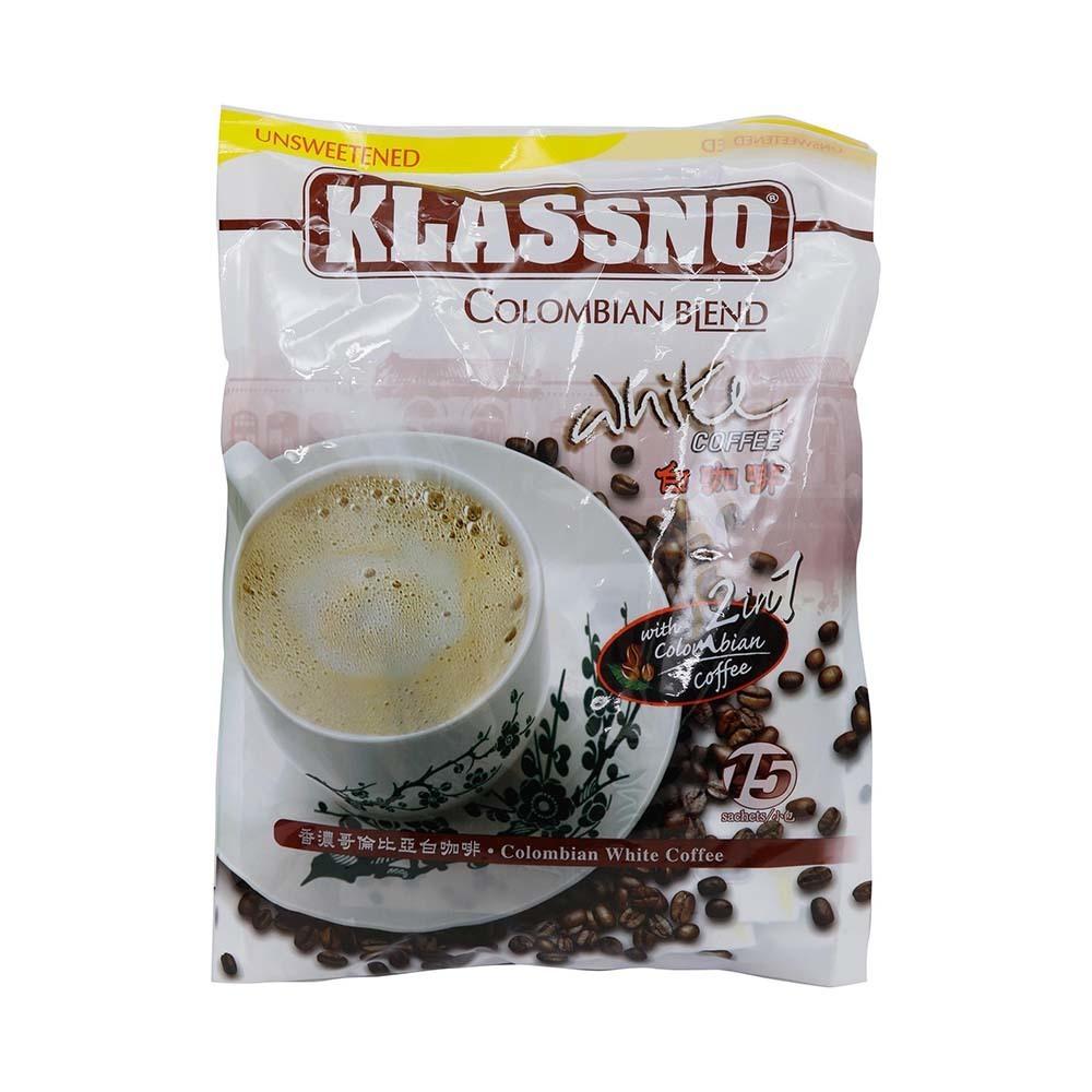 فروش آنلاین قهوه سفید کلمبیایی فوری 2 در 1 کلاسنو در فروشگاه اینترنتی وجیسنک