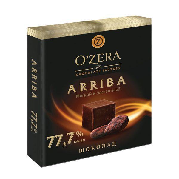 خرید اینترنتی شکلات تابلت دارک 77.7 درصد OZERA شهر شکلات فروشگاه اینترنتی وجیسنک OZERA