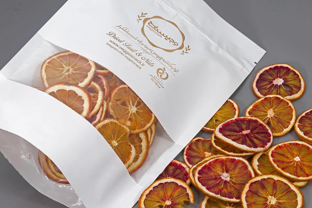 میوه خشک پرتقال تو سرخ خونی وجیسنک خرید انلاین خرید و فروش عمده تضمینی چیپس میوه و خشکبار میوه خشک پرتقال تامسون
