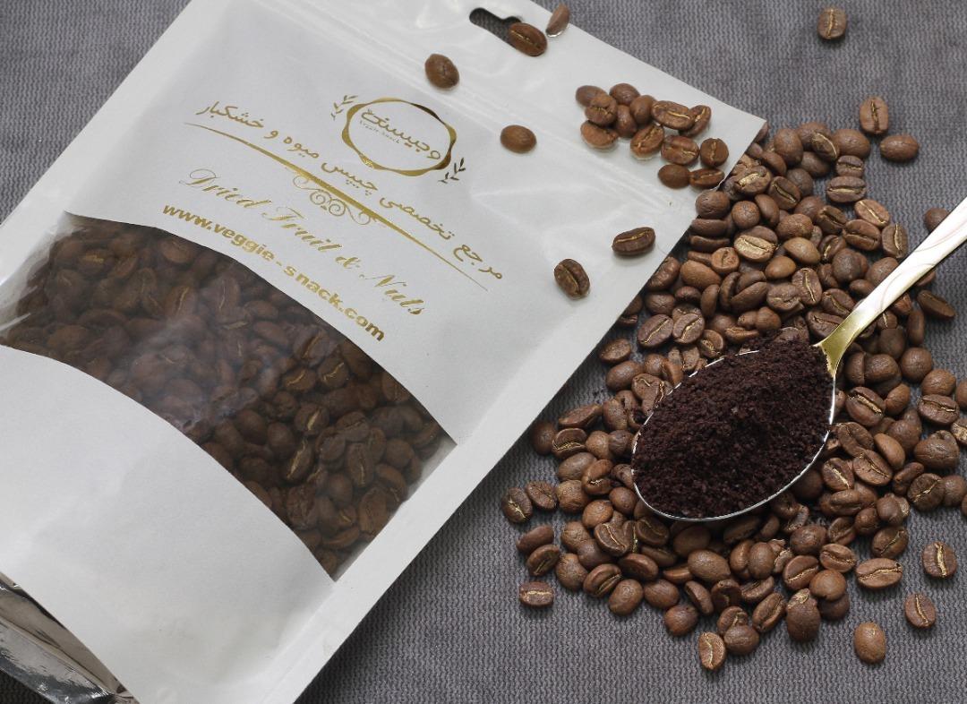 دانه قهوه اتیوپی خالص مدیوم قیمت عمده بازار تهران خرده فروشی روبوستا فروش اینترنتی انواع قهوه های دمی و اسپرسو فوری