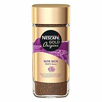 خرید اینترنتی قهوه فوری قهوه فوری نسکافه گلد مدل ALTA RICA مقدار 100 مرجع تخصصی چیپس میوه و خشکبار قهوه دمنوش چای وجیسنک