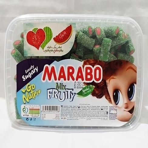 خرید انلاین پاستیل هندوانه لقمه ای شکری marabo فروشگاه اینترنتی وجیسنک پاستیل شکلات قهوه میوه خشک دمنوش قافلانکوه