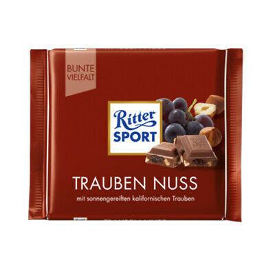 خرید اینترنتی شکلات 100 گرمی Ritter Sport مدل TRAUBEN NUSS شهر شکلات فروشگاه اینترنتی وجیسنک