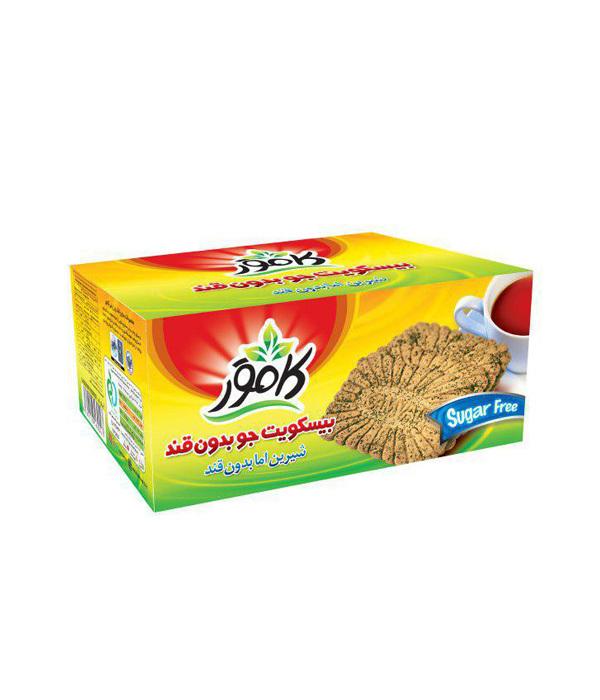 خرید آنلاین بیسکویت جو بدون شکر و رژیمی کامور فروشگاه اینترنتی وجیسنک محصولات رژیمی کامور بدون قند