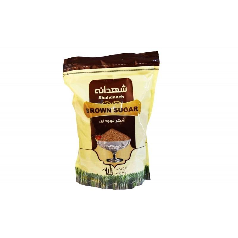 خرید آنلاین شکر قهوه ای شهدانه 900 گرمی از فروشگاه اینترنتی عطاری وجیسنک