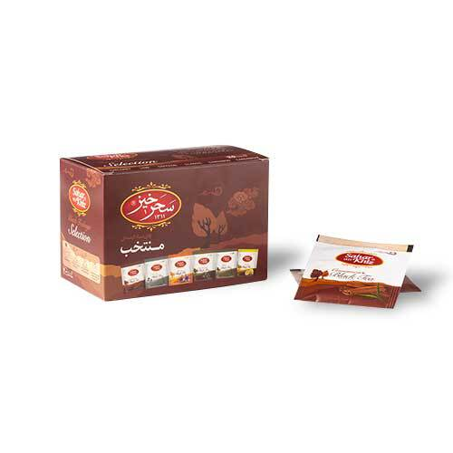 خرید انلاین چای سیاه کیسه ای منتخب سحرخیز فروشگاه اینترنتی وجیسنک مجموعه ای گسترده از چای ایرانی و خارجی