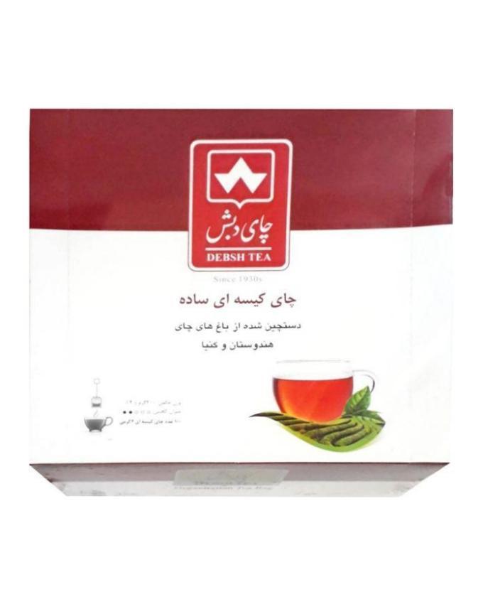 چای کیسه ای دبش 100 عددی وجیسنک خرید انلاین خرید اینترنتی چای و دمنوش قیمت عمده چای دبش