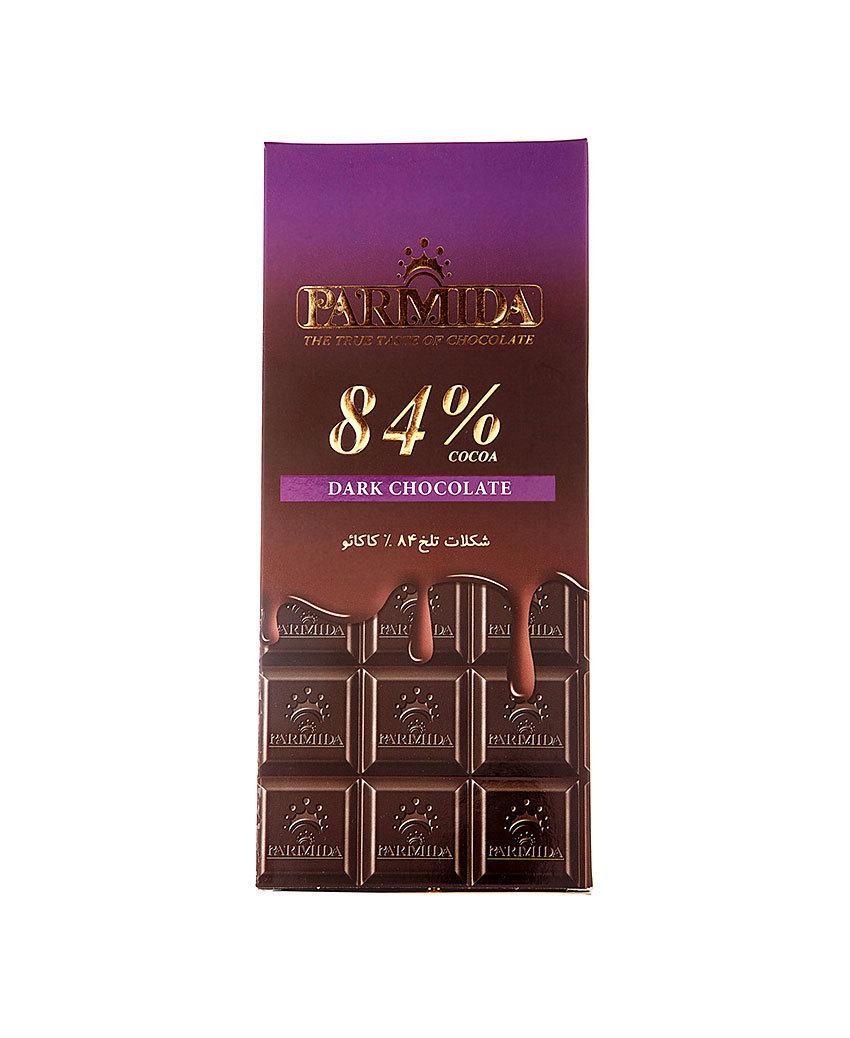 شکلات تابلت 84% پارمیدا وجیسنک خرید انلاین خشکبار شکلات میوه خشک شهر شکلات وجیسنک فروش خرده و عمده شکلات زیر قیمت بازار