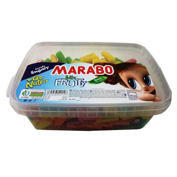 خرید انلاین پاستیل لقمه ای لوله ای مارابو marabo فروشگاه اینترنتی وجیسنک پاستیل شکلات قهوه میوه خشک دمنوش