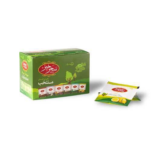 خرید انلاین چای سبز کیسه ای منتخب سحرخیز فروشگاه اینترنتی وجیسنک مجموعه ای گسترده از چای ایرانی و خارجی