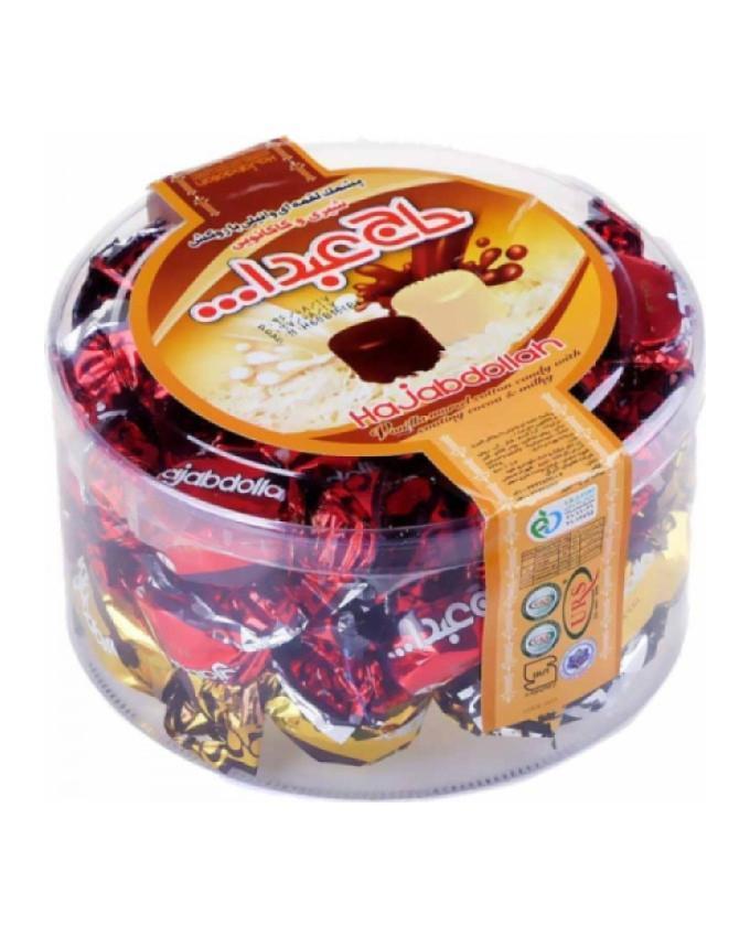خرید انلاین پشمک حاج عبدالله شیری شکلاتی فروشگاه وجیسنک شهر شکلات قهوه دمنوش
