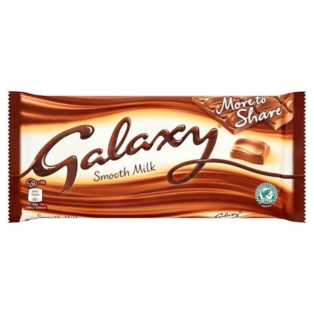 خرید اینترنتی شکلات تابلت شیری 200 گرمی GALAXY شهر شکلات فروشگاه اینترنتی وجیسنک