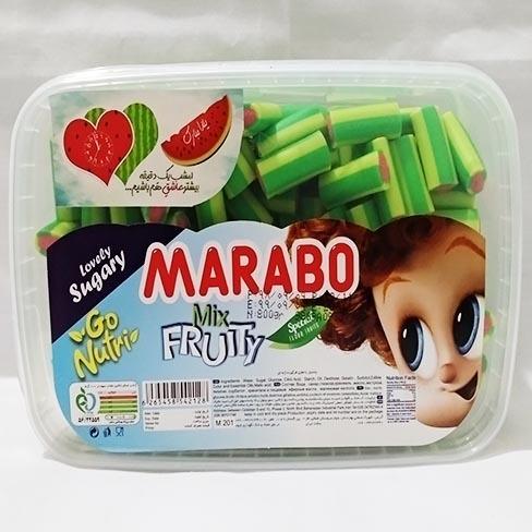 خرید انلاین پاستیل هندوانه لقمه ای براق marabo فروشگاه اینترنتی وجیسنک پاستیل شکلات قهوه میوه خشک دمنوش قافلانکوه