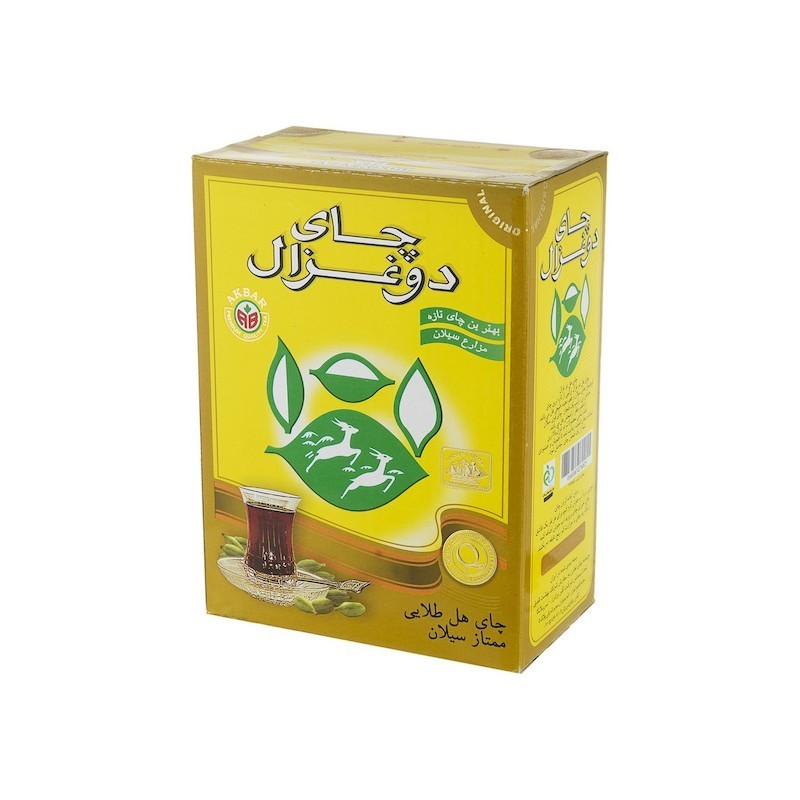 چای سیاه شکسته با طعم هل دوغزال 500 گرمی خرید انلاین وجیسنک ساده خرید اینترنتی چای دمنوش میوه خشک شکلات داغ