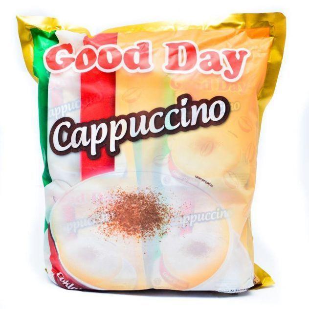 خرید انلاین کاپوچینو فوری گوددی بسته 30 عددی Good Day Cappuccino دمنوش چای قهوه در فروشگاه وجیسنک
