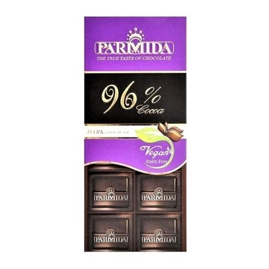 شکلات تابلت 96% پارمیدا وجیسنک خرید اینترنتی خشکبار شکلات تنقلات گیاهی vegan گیاه خواران خام گیاه خواری ارگانیک تنفقلات