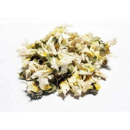 خرید آنلاین گل ختمی سفید درجه یک از فروشگاه اینترنتی عطاری وجیسنک