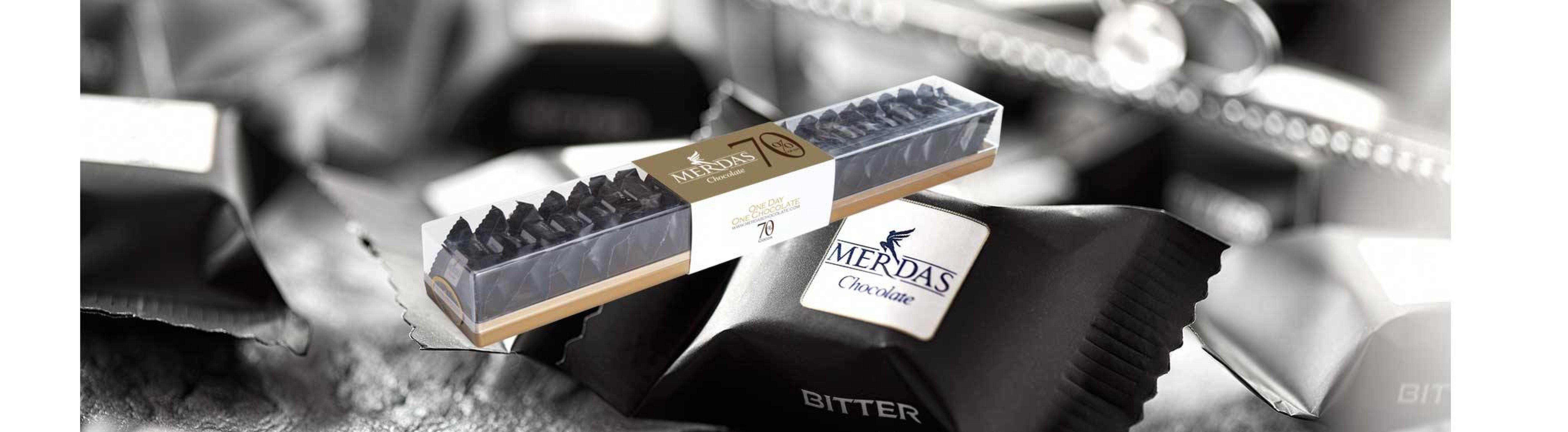 خرید اینترنتی کاکائو تلخ دارک 70 درصد مرداس شهر شکلات فروشگاه اینترنتی وجیسنک