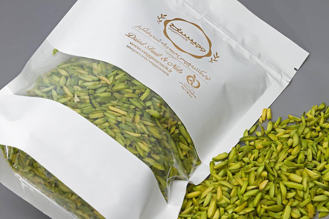 خرید انلاین خلال پسته از فروشگاه وجیسنک خلال ممتاز پسته بادام دمنوش چای خشکبار خلال درجه یک زیر قیمت بازار تهران