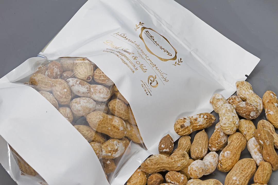 قیمت خرید آنلاین بادام زمینی غلاف دار شور آستانه فروشگاه خشکبار اینترنتی وجیسنک پسته شامی