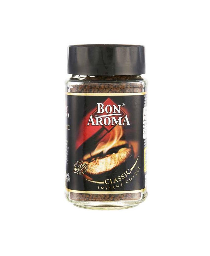 خرید اینترنتی قهوه فوری 50 گرمی کلاسیک بن آروما BON AROMA مرجع تخصصی چیپس میوه و خشکبار قهوه دمنوش چای وجیسنک