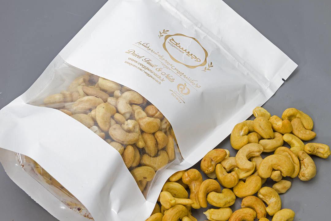 بادام هندی شور 320 سایز متوسط ریز وجیسنک 180 240 320 خرید انلاین خشکبار بادام هندی خام درشت 240 180 320 وجیسنک خرید انلا