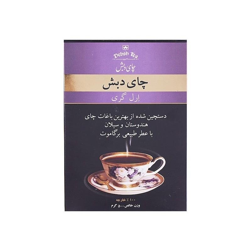 چای دبش ارل گری 100 گرمی خرید انلاین وجیسنک خرید اینترنتی چای دمنوش خشکبار میوه خشک قهوه فوری