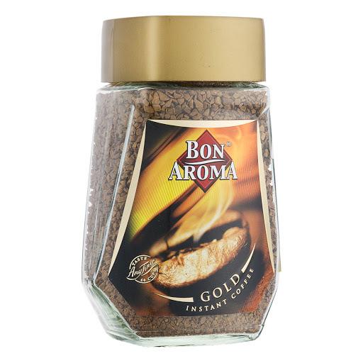 خرید اینترنتی قهوه فوری 100 گرمی گلد بن آروما BON AROMA مرجع تخصصی چیپس میوه و خشکبار قهوه دمنوش چای وجیسنک