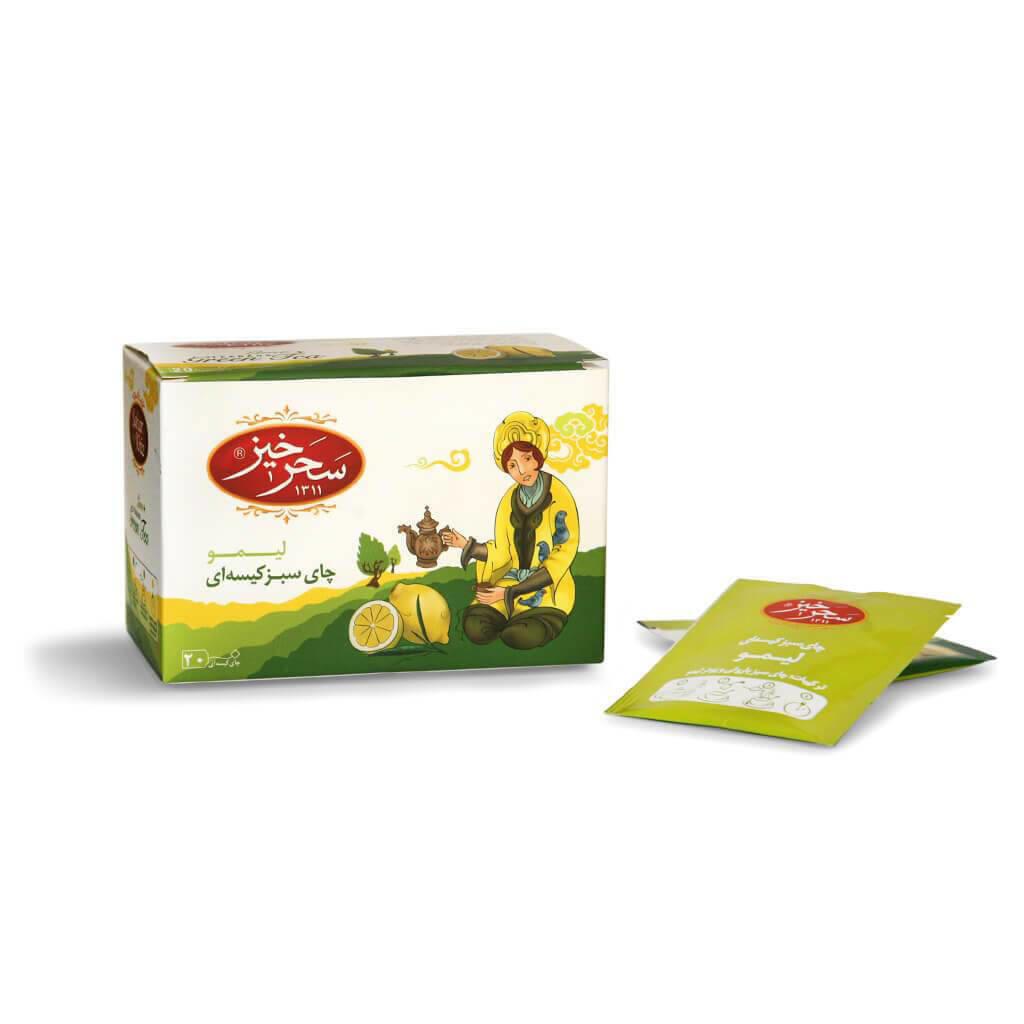 خرید چای سبر کیسه ای لیمو سحرخیز چای از فروشگاه اینترنتی وجیسنک مجموعه ای گسترده از چای ایرانی و خارجی اکنون سفارش دهید