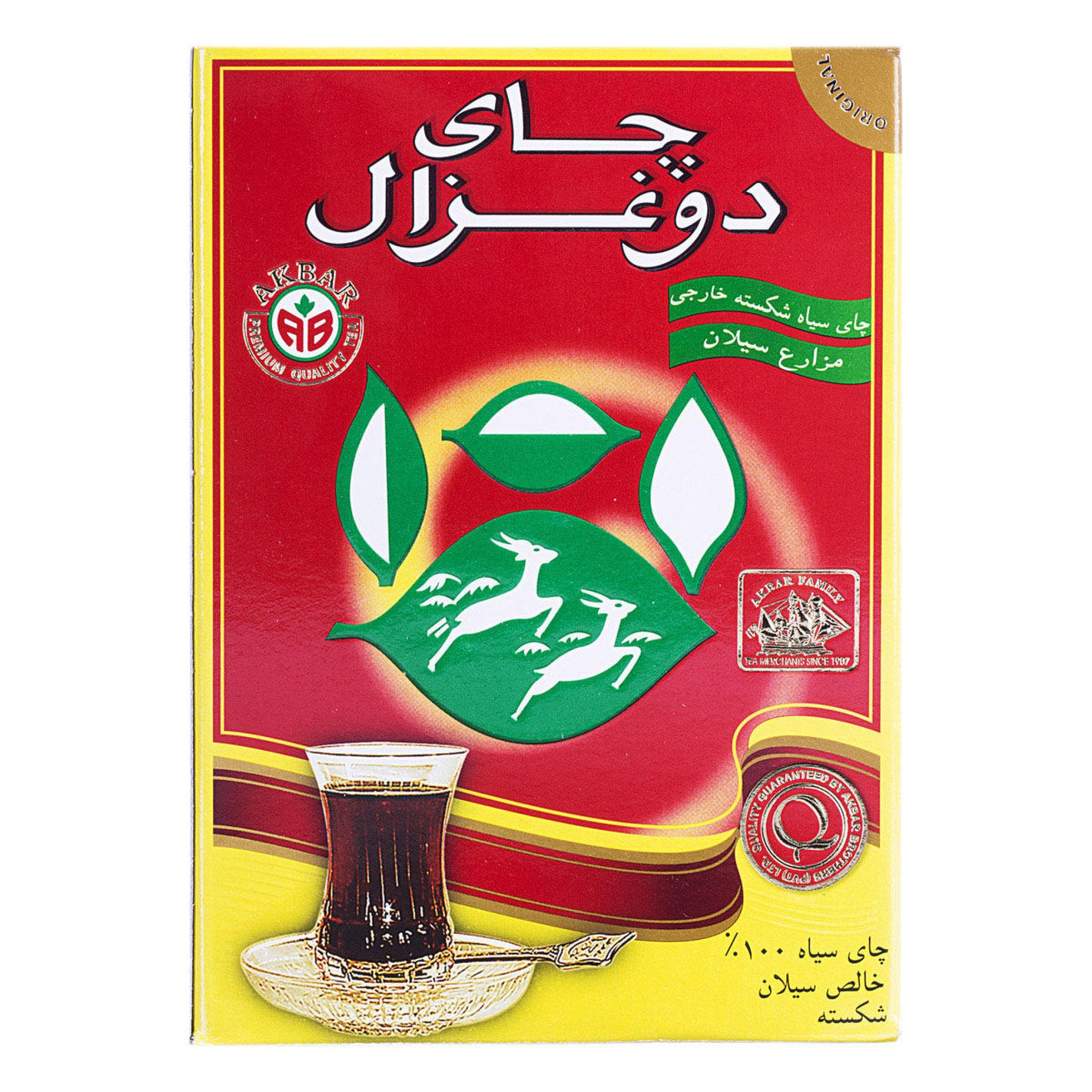 چای سیاه شکسته دوغزال بدون عطر 100 گرم خرید انلاین وجیسنک ساده خرید اینترنتی چای دمنوش میوه خشک شکلات داغ زیر قیمت بازار