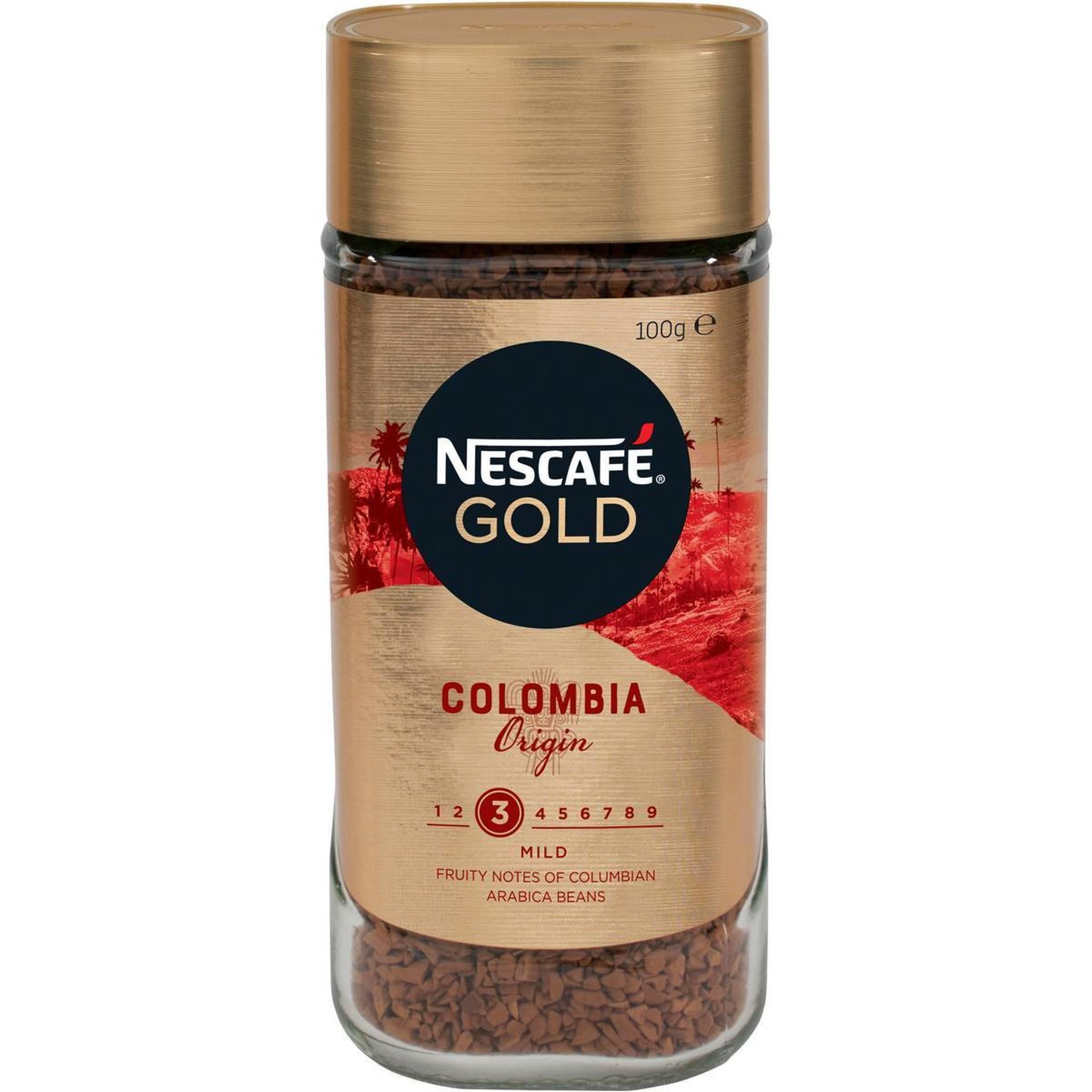 خرید اینترنتی قهوه فوری نسکافه گلد مدل origins مقدار 100 گرمی مرجع تخصصی چیپس میوه و خشکبار قهوه دمنوش چای وجیسنک