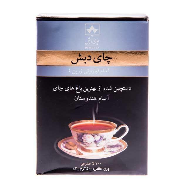 چای دبش آسام باروتی زرین خرید انلاین وجیسنک