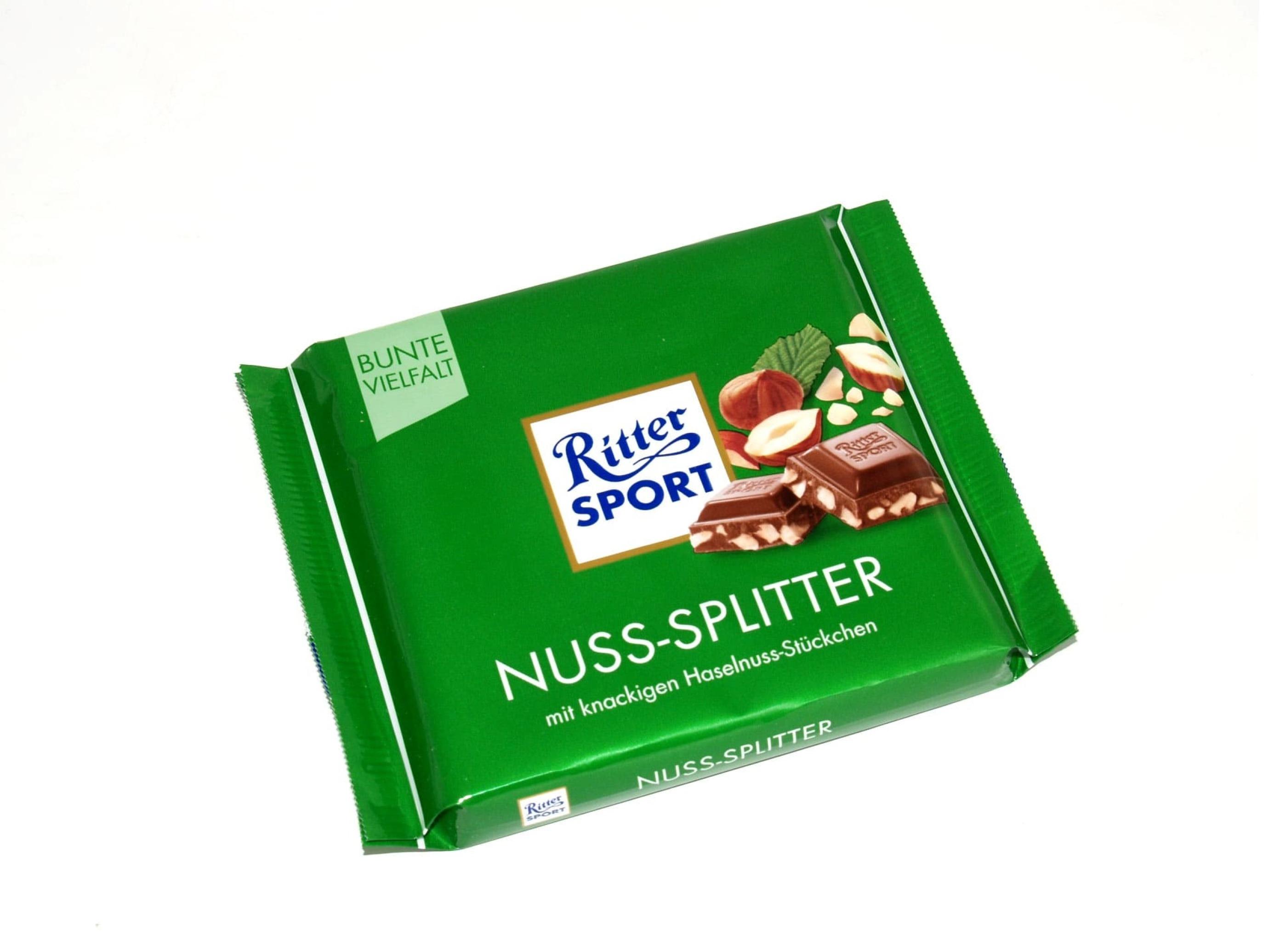 خرید اینترنتی شکلات 100 گرمی Ritter Sport مدل NUSS-SPLITTER شهر شکلات فروشگاه اینترنتی وجیسنک
