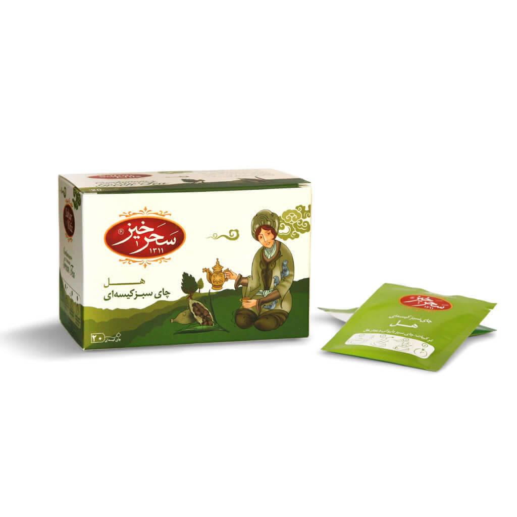 خرید انلاین چای سیاه کیسه ای هل سحر خیز فروشگاه اینترنتی وجیسنک مجموعه ای گسترده از چای ایرانی و خارجی اکنون سفارش دهید