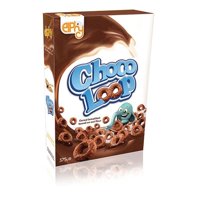 غلات صبحانه حلقه ای کاکائویی الفی 375 گرمی وجیسنک خرید انلاین فروشگاه اینترنتی خشکبار وجیسنک شهر شکلات وجیسنک nestle