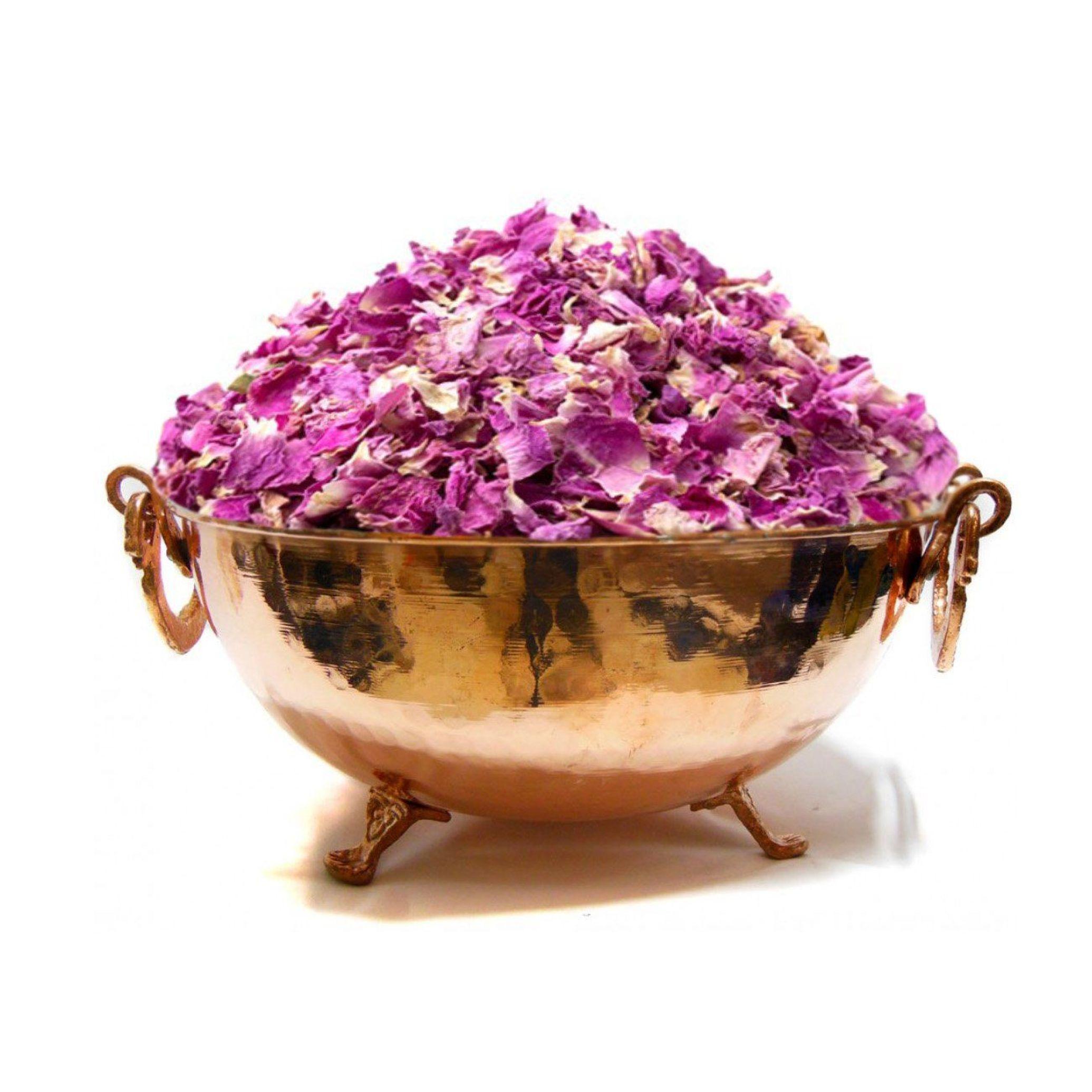 خرید آنلاین پر گل محمدی درجه یک از فروشگاه اینترنتی عطاری وجیسنک